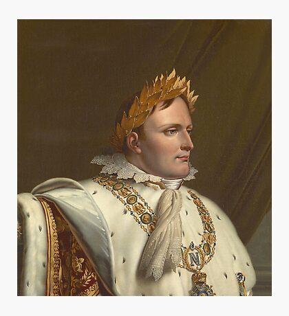 Anne-Louis Girodet-Trioson - Portrait of Napoleon in His Coronation Robes Photographic Print