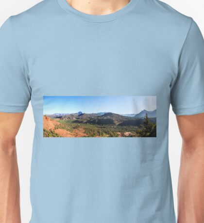 Cathedral Rock - Back to the Begining - Panorama Unisex T-Shirt