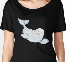 Beluga Wave Women's Relaxed Fit T-Shirt