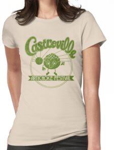 Strange Artichoke Womens Fitted T-Shirt