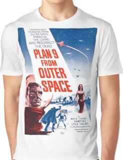 PLAN 9 from Outer Space Graphic T-Shirt