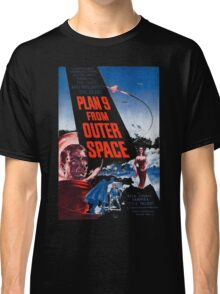 PLAN 9 from Outer Space Classic T-Shirt