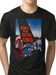 PLAN 9 from Outer Space Tri-blend T-Shirt
