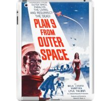 PLAN 9 from Outer Space iPad Case/Skin