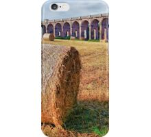 Straw Bales - Balcombe Viaduct - HDR iPhone Case/Skin