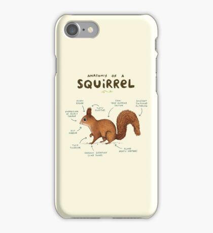 Anatomy of a Squirrel iPhone Case/Skin