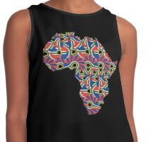Africa Pattern  Contrast Tank
