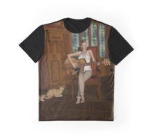 A Song For Her Cats Graphic T-Shirt