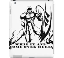Scorpion Workout! whip it over here! iPad Case/Skin