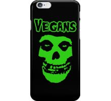 VEGAN MISFIT iPhone Case/Skin