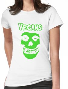 VEGAN MISFIT Womens Fitted T-Shirt