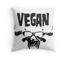 VEGANZIG Throw Pillow