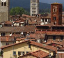 Towers and Roof Tops, Lucca Sticker