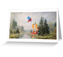 It's Drinking the Water! Greeting Card