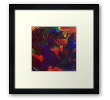 Art brush Framed Print