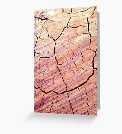 Cracked Desert 2 Greeting Card