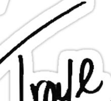 Troye Sivan Signature Sticker