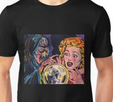 The Witch and her crystal ball Unisex T-Shirt