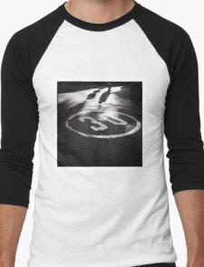 Life Begins at Thirty? Men's Baseball ¾ T-Shirt