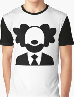 Clown Icon Graphic T-Shirt