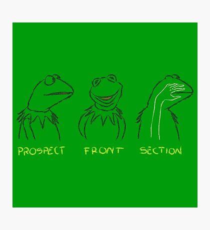 KERMIT: PROSPECT - FRONT- SECTION Photographic Print