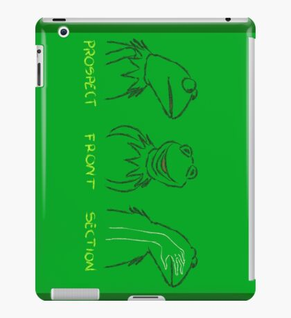 KERMIT: PROSPECT - FRONT- SECTION iPad Case/Skin