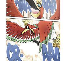 Ho-oh - Manga Edit Photographic Print