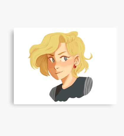 Android 18 Canvas Print
