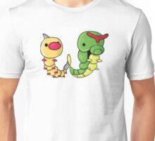 Weedle and Caterpie Unisex T-Shirt