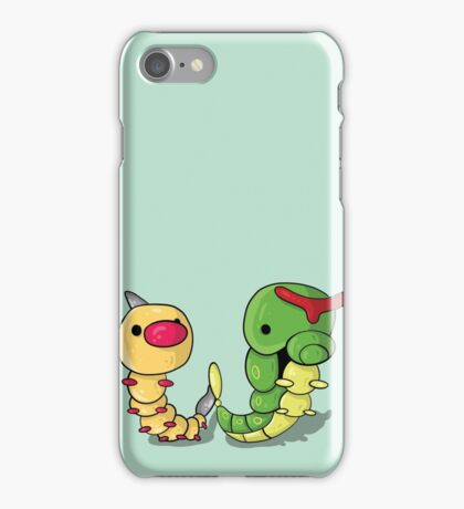 Weedle and Caterpie iPhone Case/Skin