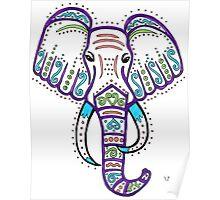 Elephant Strength Poster