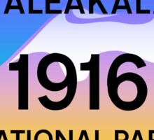 HALEAKALA HAWAII VOLCANOES NATIONAL PARK VOLCANO Sticker