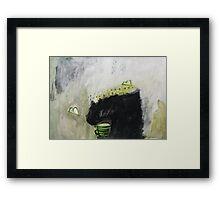 considering spring Framed Print