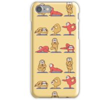 Sloth Yoga iPhone Case/Skin