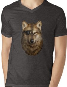wolf 2 Mens V-Neck T-Shirt