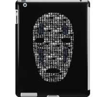 No-Face Mask Typograph iPad Case/Skin