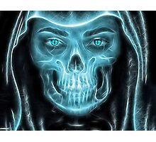 Halloween Grim Reaper Photographic Print
