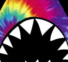 Tye Dye Shark Sticker
