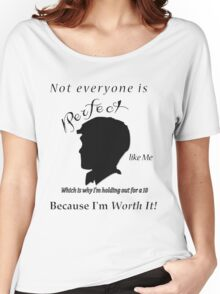 1 being the ugliest and 10 pretty  Women's Relaxed Fit T-Shirt