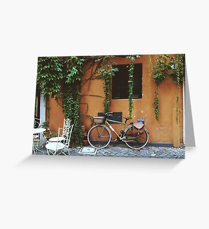 Bicycle in Rome Greeting Card