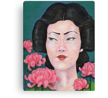 Daughter of the Empire Canvas Print