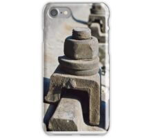 rail bolt iPhone Case/Skin