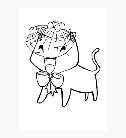 Sassy Cat Photographic Print