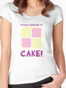 Cake! Women's Fitted Scoop T-Shirt