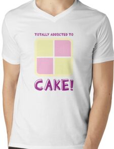 Cake! Mens V-Neck T-Shirt