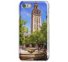 Patio de los Naranjos - Catedral de Sevilla, Andalucia, Spain iPhone Case/Skin