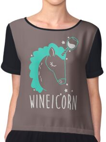 Wineicorn Chiffon Top