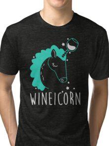 Wineicorn Tri-blend T-Shirt