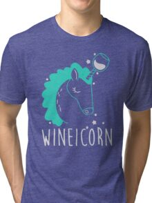 Wineicorn Tri-blend T-Shirt