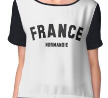 FRANCE NORMANDIE Chiffon Top